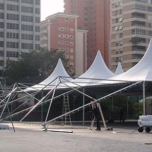 Aluguel de Tendas - 1