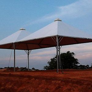 Estrutura Metálica para Tendas - 2