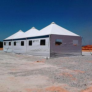 Tenda de Lona Pirâmide - 1