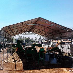Tenda para Obras