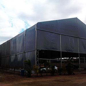 Tendas armazenagem